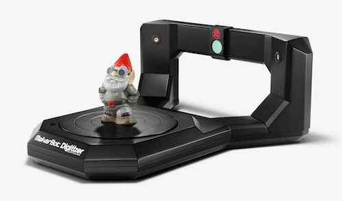 MakerBot Digitizer with Gnome