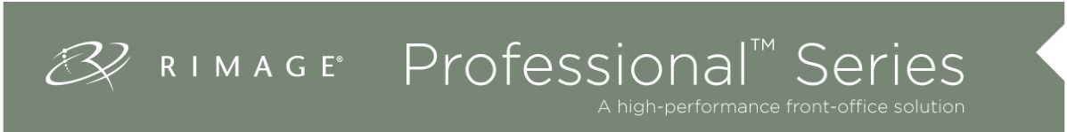 Rimage Professional Banner